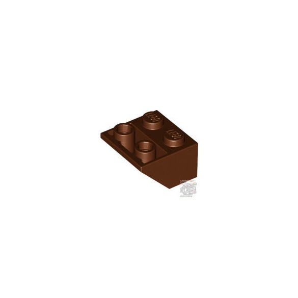 Lego Roof Tile 2X2/45° Inv., Reddish brown