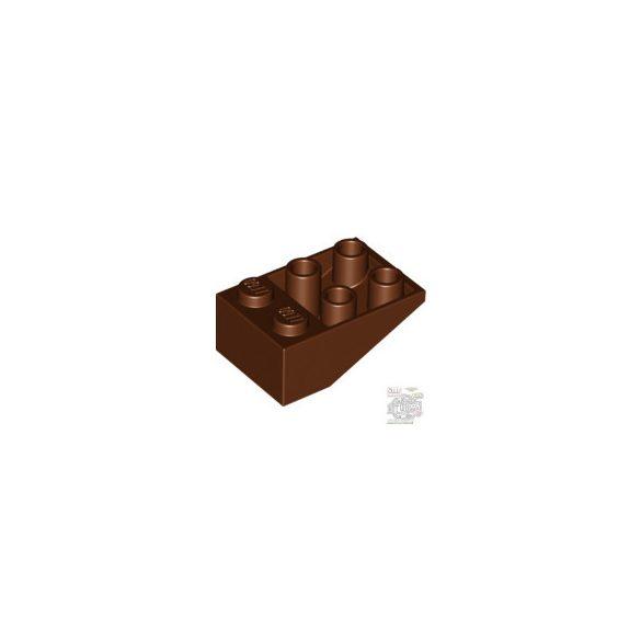 Lego Roof Tile 2X3/25° Inv., Reddish brown