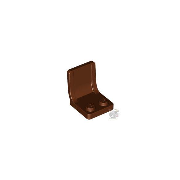 Lego Seat 2X2X2, reddish brown