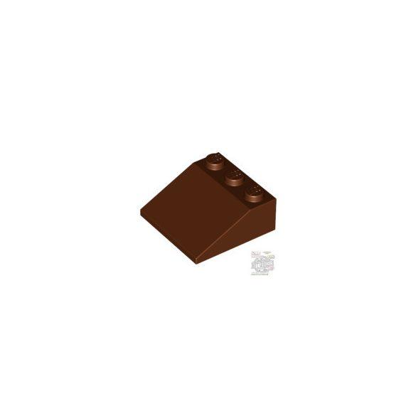 Lego Roof Tile 3X3/25°, Reddish brown
