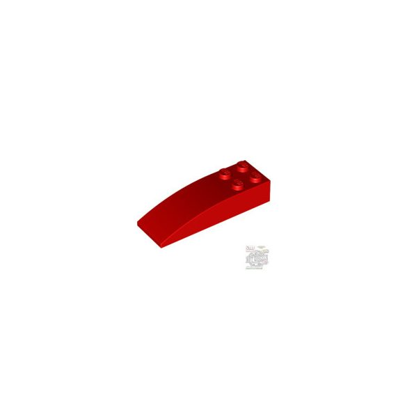 Lego Brick 2 X 6 W. Bow, Bright red
