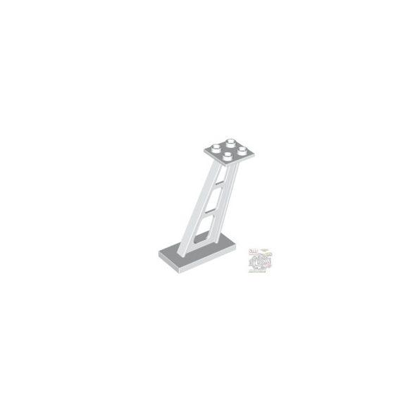 Lego Slanting Standard 2X4/2X2, White
