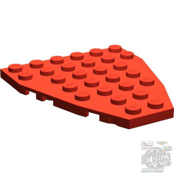 Lego Stem Plate 7X6 W/Cor., Bright red