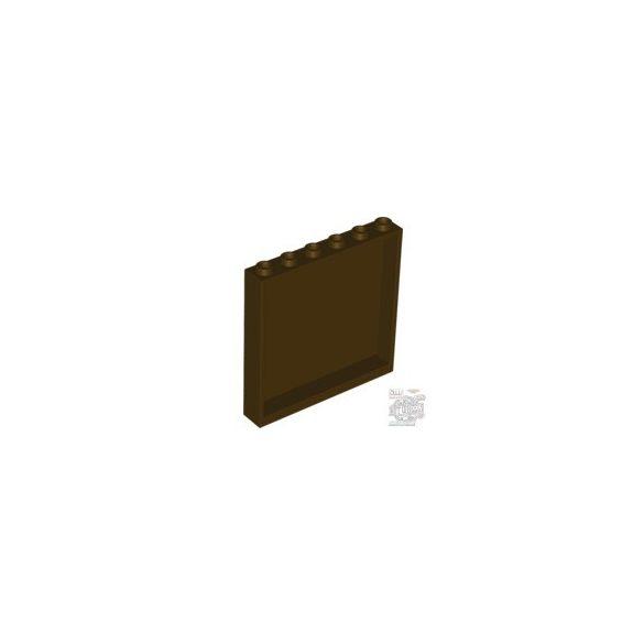 Lego Wall Element 1X6X5, Dark brown