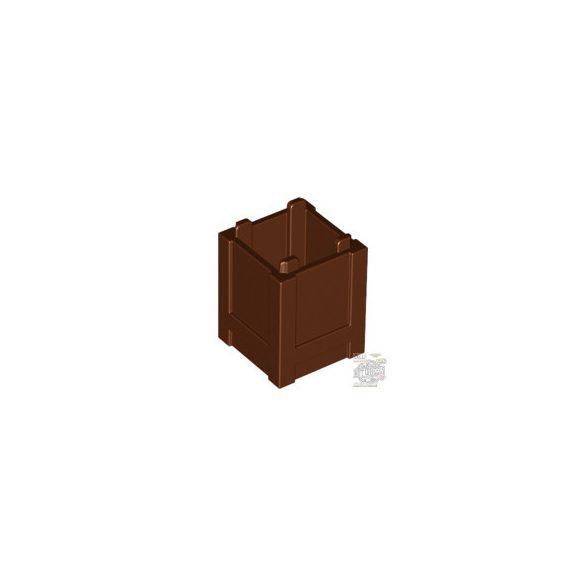 Lego Box 2x2, Reddish Brown