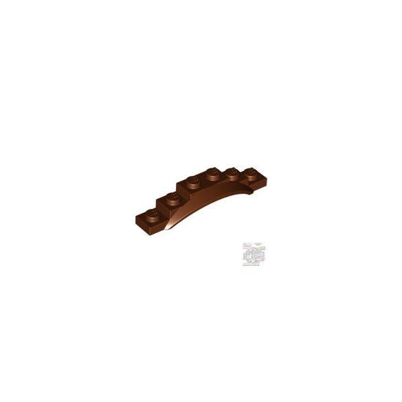 Lego Screen 1X6X1 W. Edge, Reddish brown