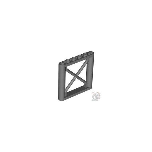 Lego Lattice Wall 1X6X5, Dark grey