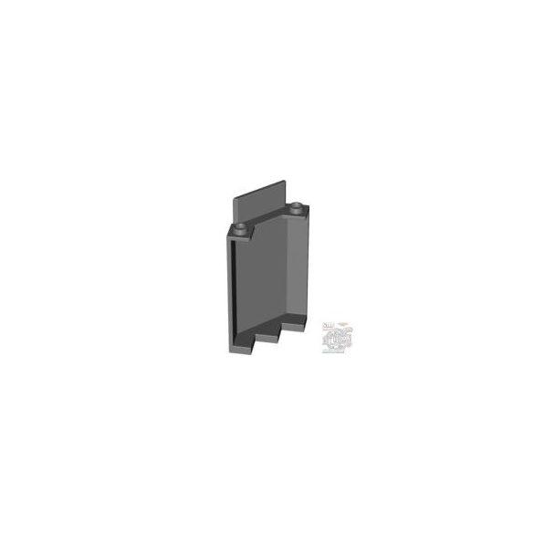 Lego Wall 3X3X6, Wry 45 Degr., Dark stone grey