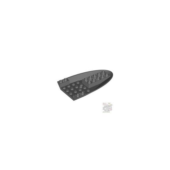 Lego Inverted R.T. 6X10 W.Doubl.Bow, Dark grey