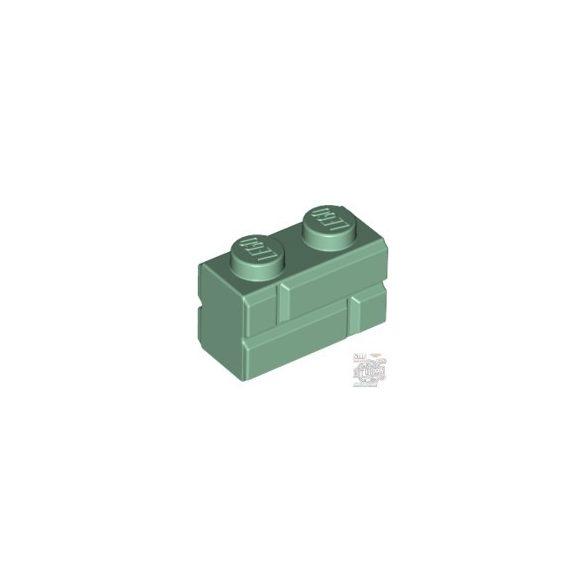 Lego Profile Brick 1X2 Single Gro., Sand green